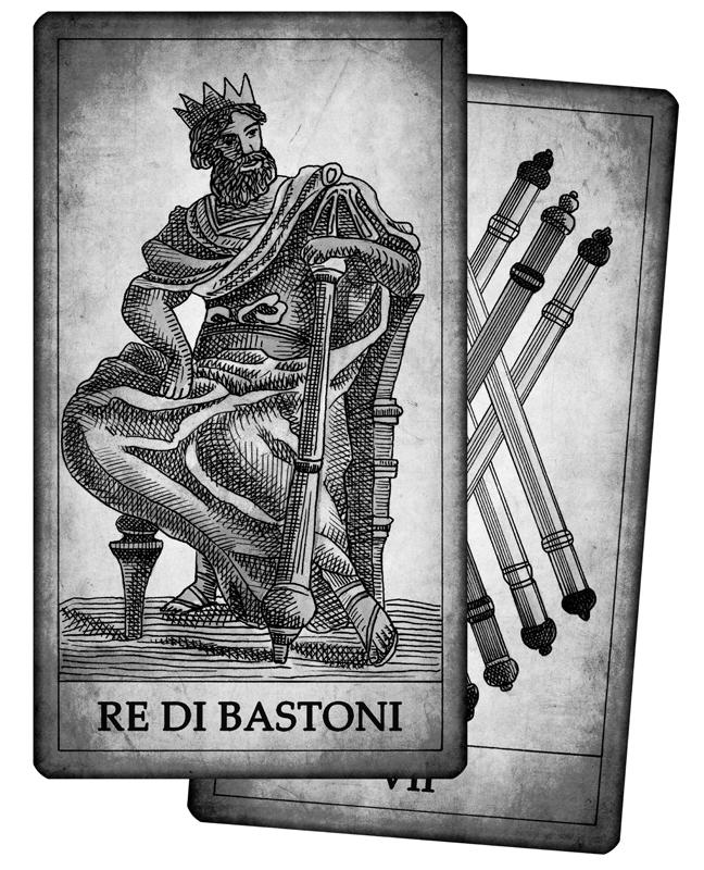 Significato delle carte di bastoni in cartomanzia - Significato delle tavole di rorschach ...