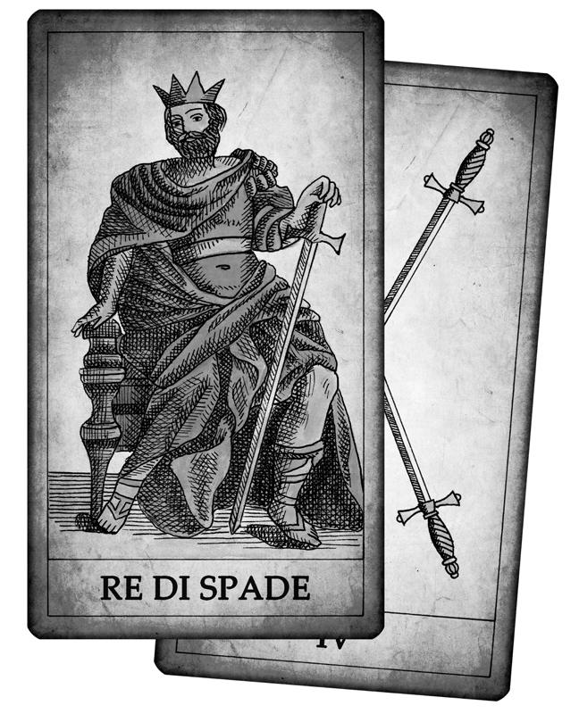 Significato delle carte di spade in cartomanzia - Significato delle tavole di rorschach ...
