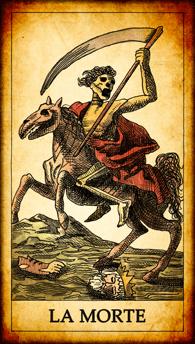 "Carta dei Tarocchi ""La Morte"""