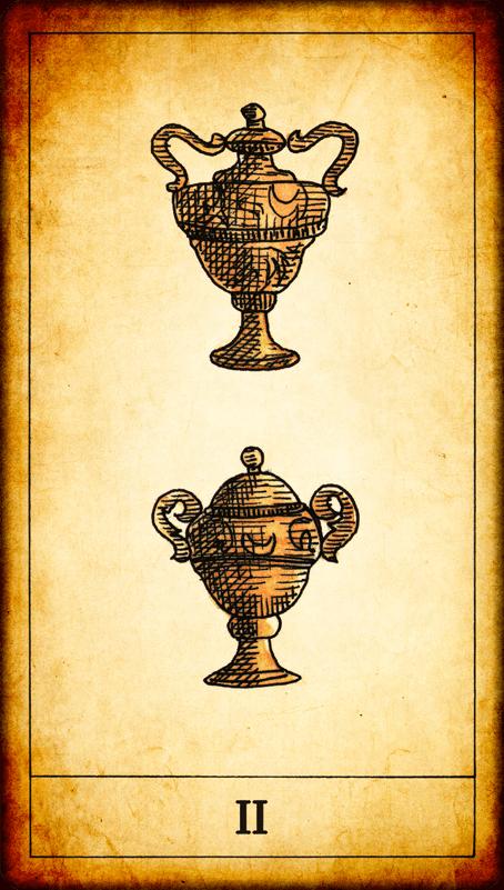 Carte di coppe dei tarocchi for Coppia di fatto significato