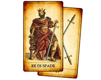 Carte di Spade dei Tarocchi
