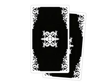 Retro delle Carte Tarocchi degli Archetipi